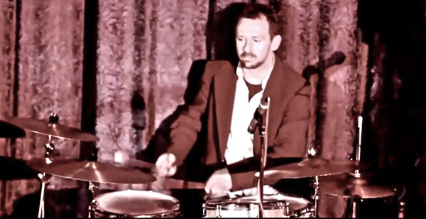 Jim Whyte on drums